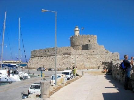 Kastell im Hafen - Agios Nikolaos Kastell