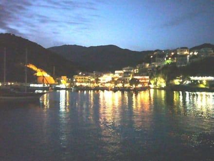 Bei Nacht - Hafen Aghia Galini/Agia Galini