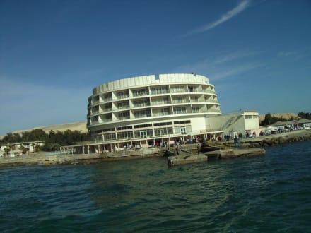 Erstes Hotel ni Hurghada (Jahrgang 1930 ) - Ausflug nach El Gouna