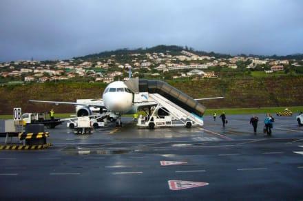 Ankunft auf Madeira - Flughafen Madeira (FNC)
