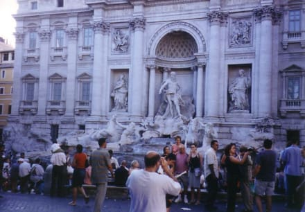 Three coins in the fountains - Trevi Brunnen