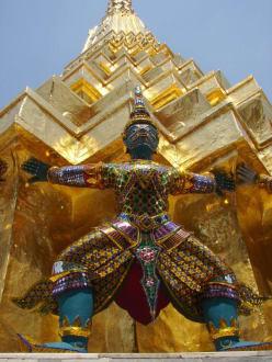 Ist er nun der Gute? - Wat Phra Keo und Königspalast / Grand Palace
