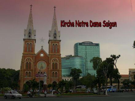 """Kirche """" Notr Dame """" in Saigon - Notre Dame Kirche"""