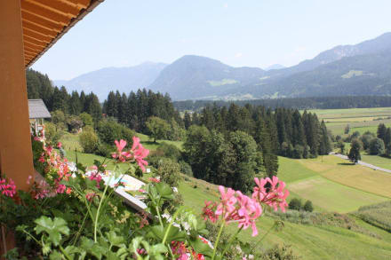 Blick vom Balkon  - Hotel Glocknerhof
