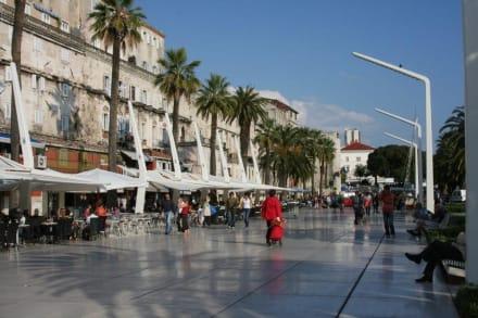 Uferstraße Split - Uferpromenade Split