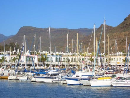 Der Hafen von Puerto de Mogan - Hafen Puerto de Mogán