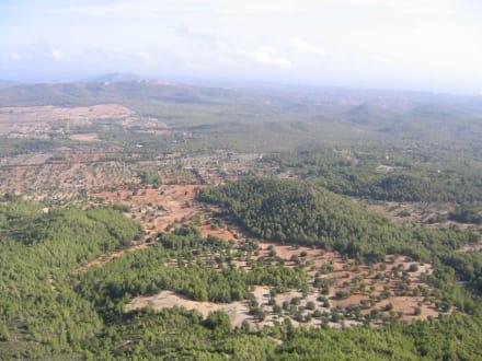 Ausblick Richtung Inselinneres - Puig de San Salvador