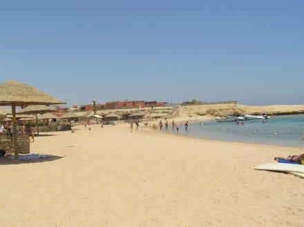 Strand und Restaurant - Sharm El Naga