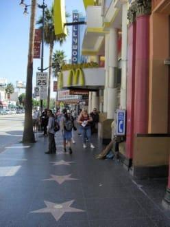 Der Berühmte Walk of Fame - Hollywood Walk of Fame