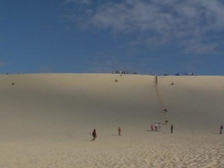 Sandhuegel - Sand Tobogganing