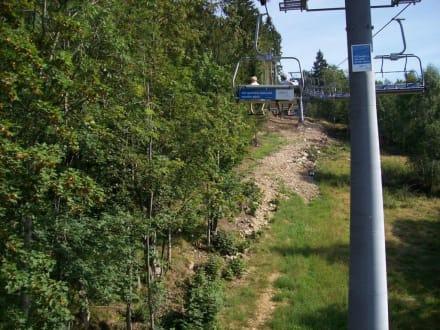 Sessellift in Rockytnice - Wandern
