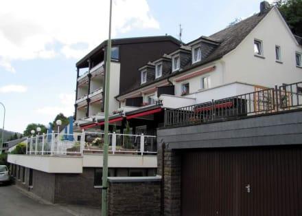 Vorderansicht des Hotels - Moselromantik Hotel Thul
