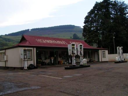 Tankstelle von Pilgrim´s Rest - Pilgrim's Rest - alte Goldgräberstadt