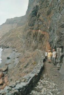 Verschnaufspause vor dem nächsten Anstieg - Wandern Riberia Grande