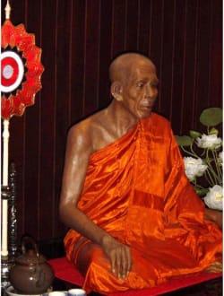 Wat Chalong-Tempel-Wachsfigur - Wat Chalong