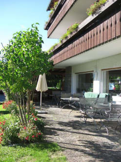 Terrasse 1 - Hotel Garni Malerwinkl