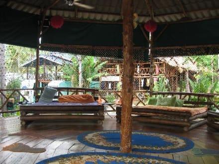 Innenansicht - Restaurant Magic Garden