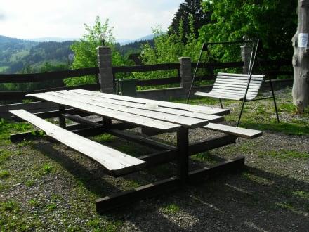 Sitzgelegenheiten im Außenbereich - Wandern