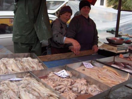 Fischmarkt in Marsaxlokk - Fischmarkt Marsaxlokk