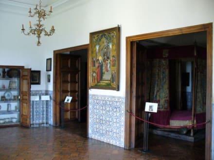 Schlafgemach von Philipp II. - Monasterio de San Lorenzo de El Escorial