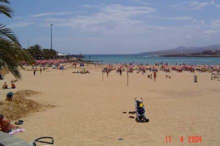 Der Strand in Caleta de Fuste - Strand Playa del Castillo