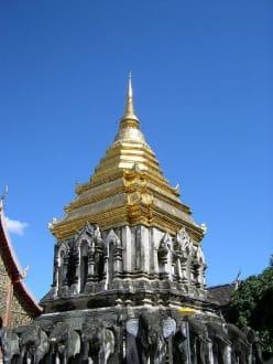 Tempel in Chiang Mai - Wat Chiang Man