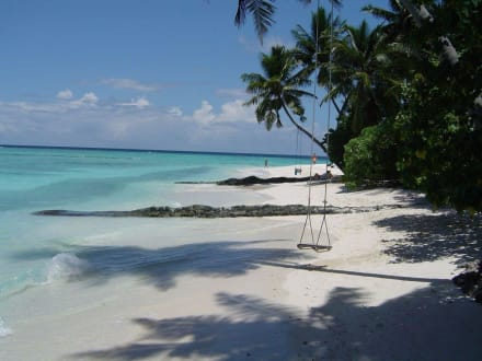 Strand/Küste/Hafen - Strand Süd-Malé-Atoll