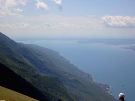 Blick Richtung Süden - Seilbahn Malcesine - Monte Baldo