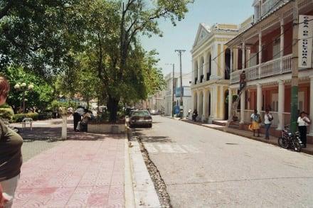 Straßenszene - Parque Central