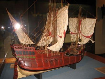 Kolumbus-Schiffsmodell - Casa de Colón