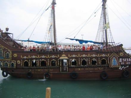 Das Piratenschiff - Piratenschifffahrt Sousse