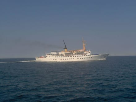 mit Tempo 70 - Insel Helgoland