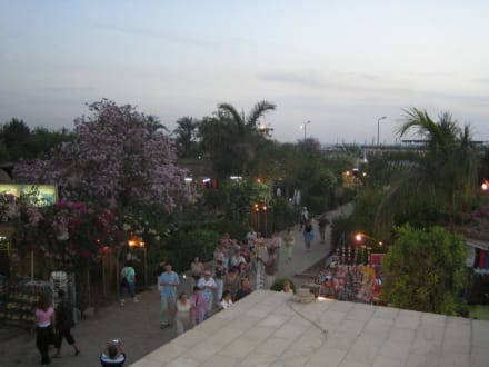 Der Hafen von Kom Ombo - Doppeltempel Kom Ombo