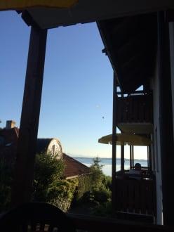 Blick vom Balkon - Ferienresidenz Chiemseestrand