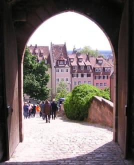 Tor in Nürnberg - Altstadt Nürnberg