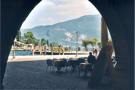 Gardasee/Riva/Italien - Hafen Riva del Garda