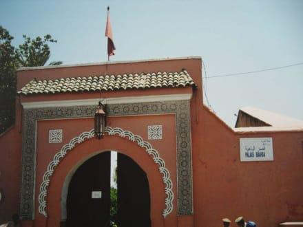 Der Eingang zum Palast - Bahia Palast