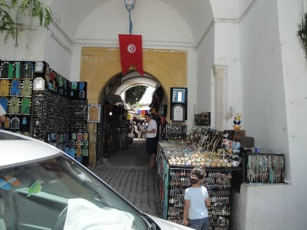 Shopping  - Künstlerdorf Sidi Bou Saïd