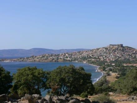 Panorama von Molivos - Burg von Molivos
