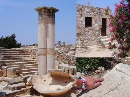 Apollon Hylates Heiligtum von Kourion - Antike Königsstadt Kourion