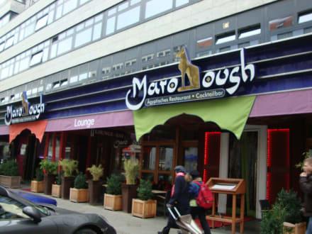 marooush restaurant in der n he vom lindner hotel am kudamm bild marooush in berlin. Black Bedroom Furniture Sets. Home Design Ideas