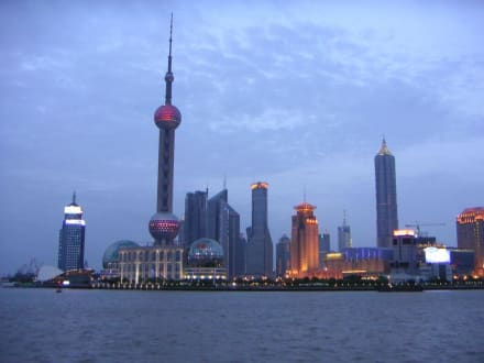 Abendstimmung Blick auf Pudong - Pudong