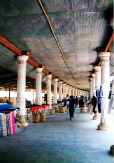 Marktstrasse - Tempel von Indein
