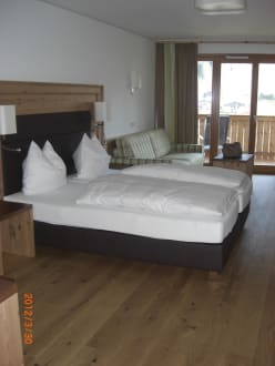 boxspringbetten bild hotel nesslerhof in gro arl salzburger land sterreich. Black Bedroom Furniture Sets. Home Design Ideas