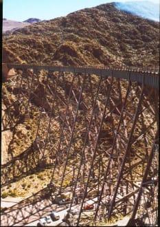 das legendäre Viadukt La Polvorilla - Tren a las Nubes