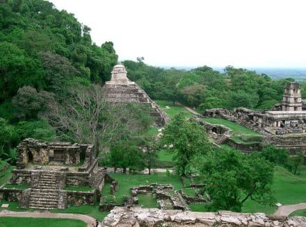 Anlage Palenque - Maya Pyramiden Palenque