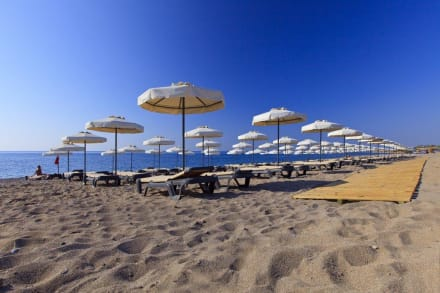 Hote's private Beach -