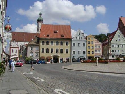 Hauptplatz im Altstadtkern - Altstadt Landsberg am Lech