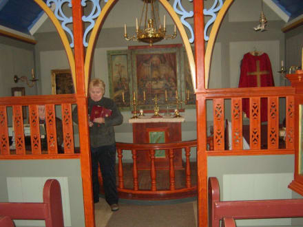 Kirche im Freilichtmuseum - Heimatmuseum Skógar