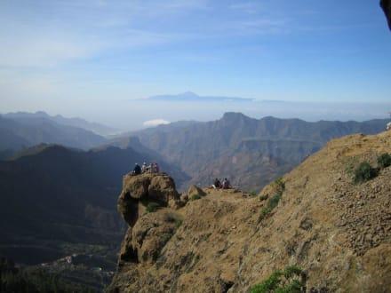 Ausflug zum Roque Nueblo - Roque Nublo und Roque Fraile